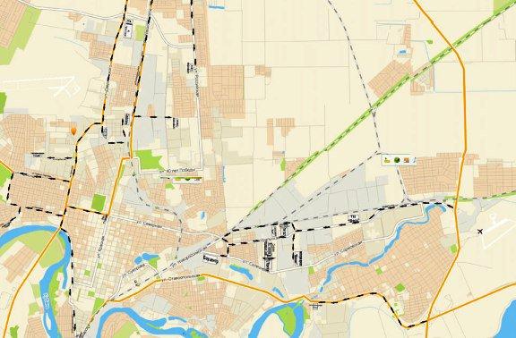 В Краснодаре разработана схема проезда по торговым центрам