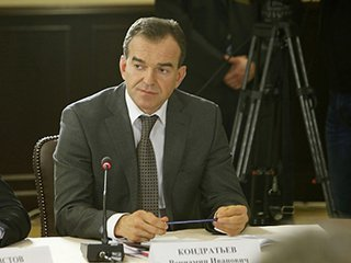 В. Кондратьев собирается расширить территорию морских пляжей в Краснодарском крае