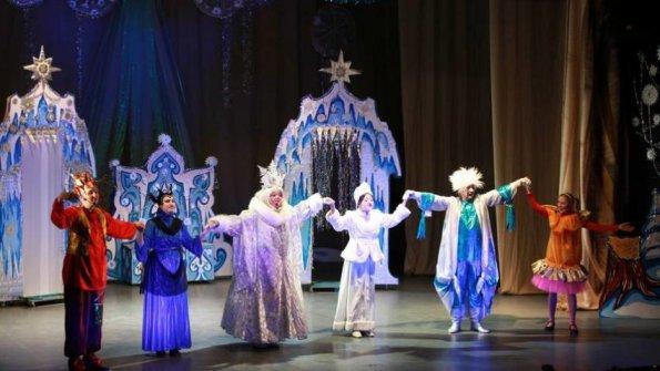 На протяжении зимних каникул краснодарские дети смогли побывать на 30 представлениях