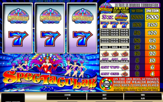 Слот автоматы Spectacular от Joy Casino