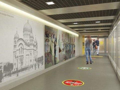 Мозаичное панно в подземном переходе Ростова сохранят