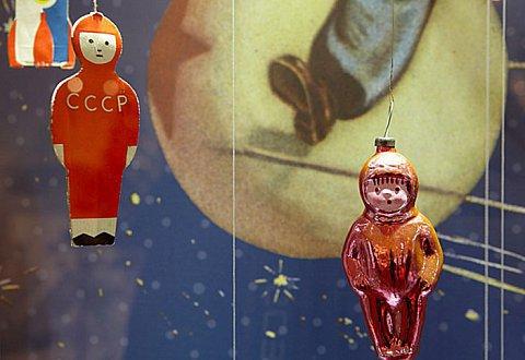 В Краснодаре открылась выставка советских елочных игрушек