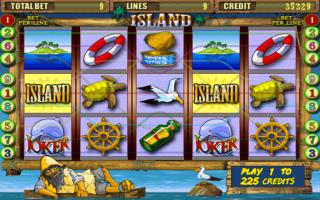 Автомат Остров от казино Вулкан
