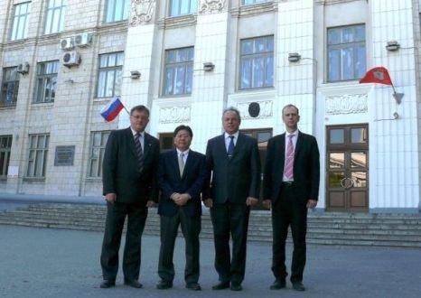 Японский профессор Нишиде побывал с визитом в ВолгГТУ