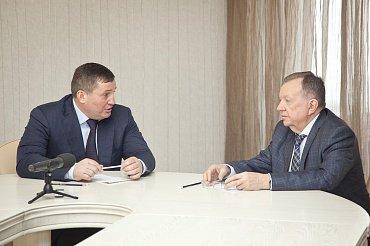 Губернатор Волгоградской области встретился с руководством АО «ЦКБ «Титан»