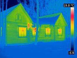 Тепловизионное обследование или съемка квартиры, жилого помещения