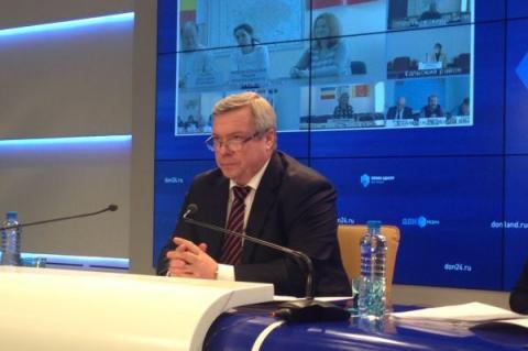 Губернатор Ростовской области рассказал журналистам о проблемах в регионе