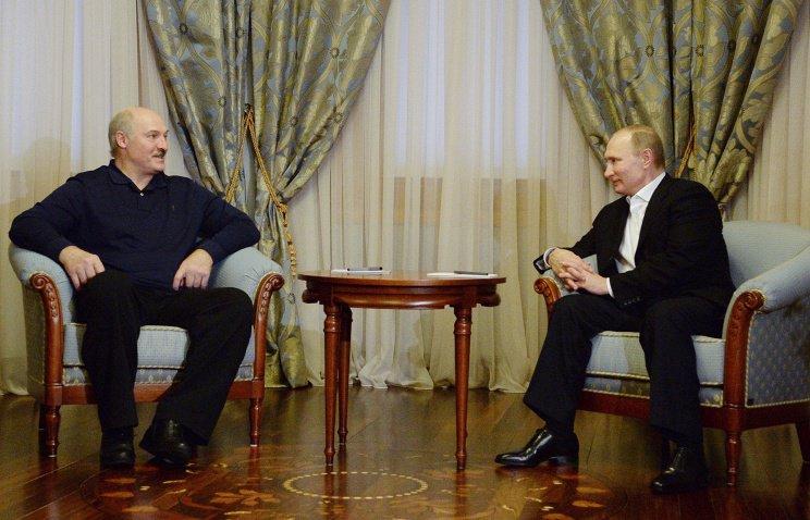 Президенты России и Белоруссии провели неформальную встречу в Сочи