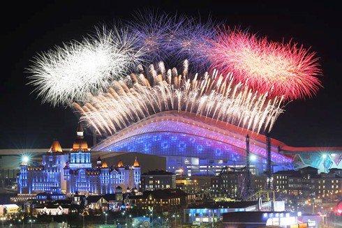 В Сочи отметили вторую годовщину Олимпиады