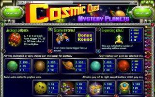 Игровой слот онлайн Сosmic Quest 2