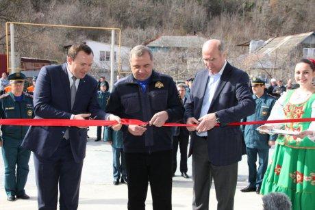 В Краснодарском крае открылась необычная пожарно-спасательная часть