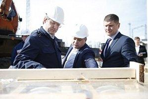 Строительство энергомоста из Кубани в Крым проинспектировал министр энергетики РФ