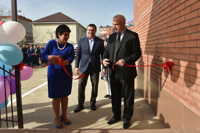 В Адыгее открылся новый детский сад