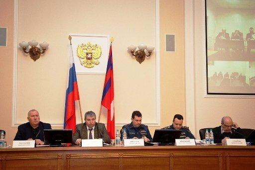 Администрация Волгоградской области провела первое отчетное заседание по вопросам подготовки в ЧМ по футболу 2018 г