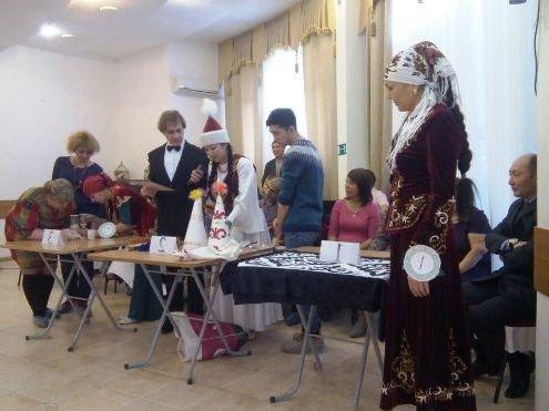 Казахскую