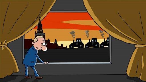 Фермеры Краснодарского края собираются ехать к В. Путину на 100 тракторах