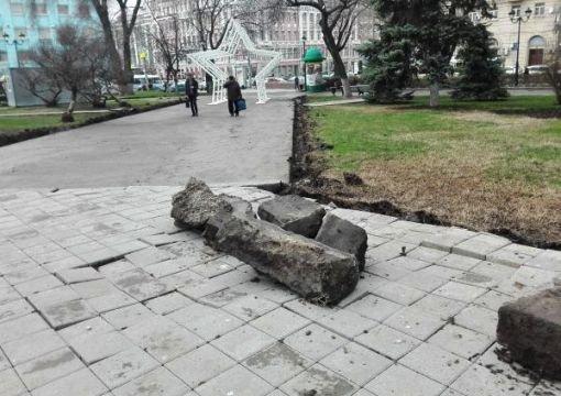 На капремонт площади Советов в Ростове выделили 6 млн руб.