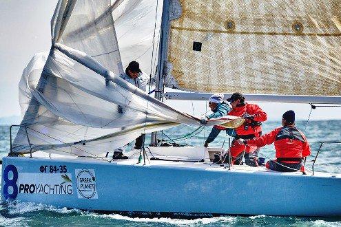 В Сочи завершились зимние морские гонки на яхтах