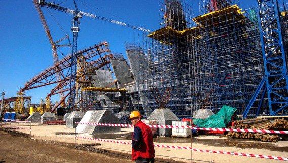 Представители FIFA побывали в Волгограде с проверкой строительства