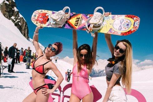 В Сочи завершилось масштабное сноубордическое мероприятие - лагерь