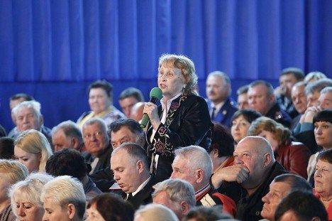 Губернатор Краснодарского края В. Кондратьев побывал с рабочим визитом в Тбилисском районе