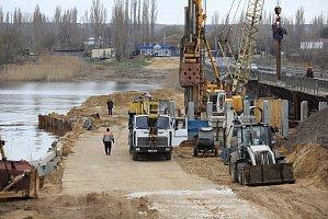 В Волгоградской области строится новый мост