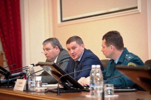 В Волгограде состоялось заседание облкомиссии по предупреждению и ликвидации ЧС