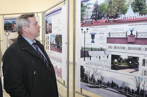 Администрация Ростова представила проект «Нового Ростова»