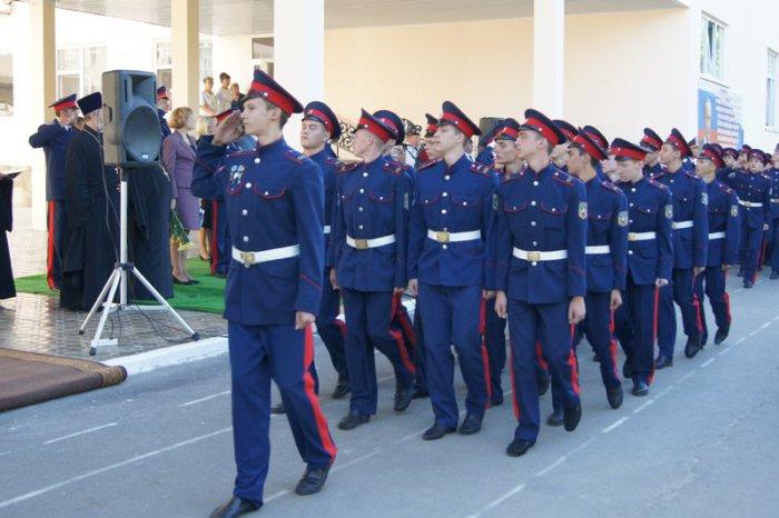 В Ростовской области откроют ещё пять кадетских корпусов
