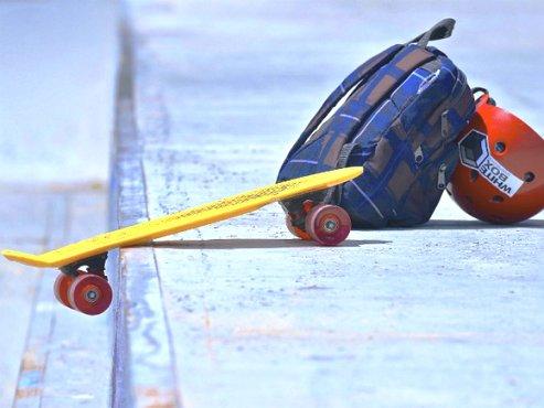 Сочинские дети провели акцию протеста против сноса скейт-парка