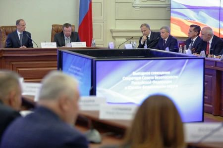 В Астрахани провели выездное заседание Совета Безопасности страны