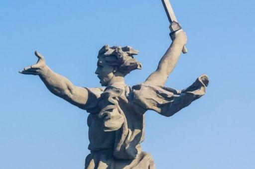День Победы в Волгограде: Скульптура