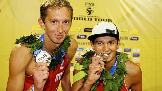 К. Семенов и В. Красильников повысили олимпийский рейтинг на сочинском этапе Мирового тура по пляжному волейболу