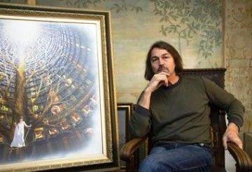 Никас Сафронов представил в Сочи  свои работы