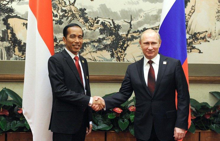 В Сочи состоятся переговоры Владимира Путина с президентом Индонезии