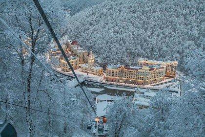 В Сочи подвели итоги горнолыжного сезона: курорт принял 800 тыс. туристов