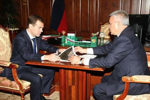 Дмитрий Медведев принял участие в запуске новой нефтеперерабатывающей установки в Волгоградской области