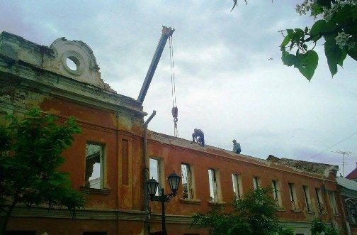В Астрахани приступили к реконструкции объекта культурного наследия 19 в.