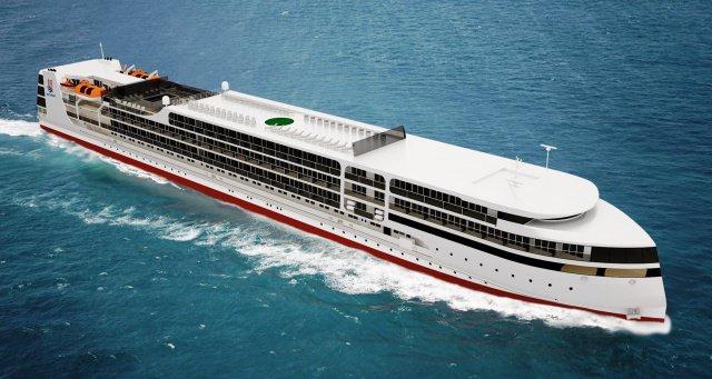 Астраханский судостроительный завод «Лотос» примет участие в создании «пятизвёздочного» круизного лайнера