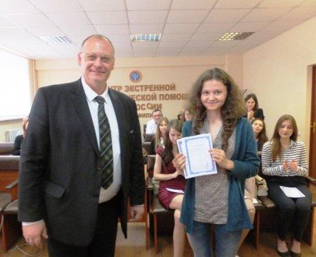 В Ростове прошел первый выпуск инструкторов по оказанию первой медпомощи