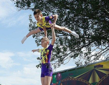 В Волгограде прошёл весёлый Фестиваль цирковых искусств