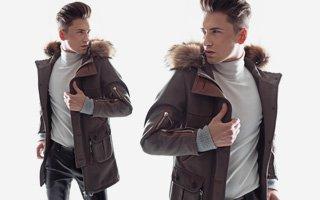 Покупка брендовой мужской куртки