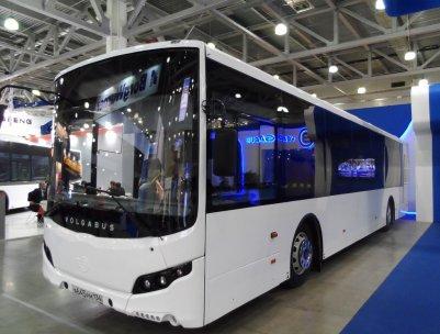 В Волгоградской области представили первый беспилотный автобус