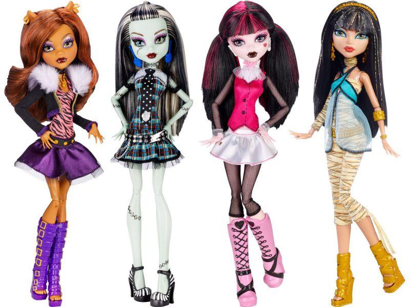 Заказать куклу монстер хай в городе Киев с доставкой по Украине