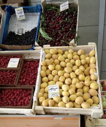 Цены на местные овощи и фрукты Кубани можно сравнить с парижскими