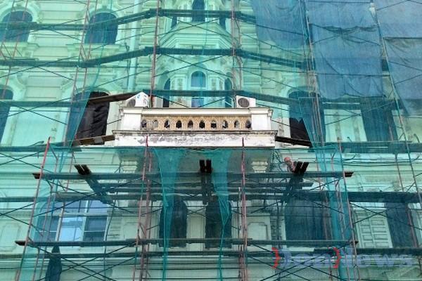 Фасад ростовской администрации приведут в порядок к Дню города