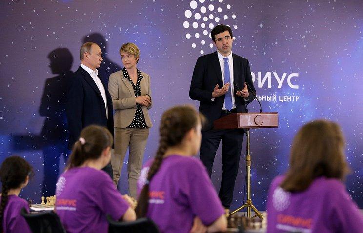 Президент России посетил сочинский детский образовательный центр «Сириус»