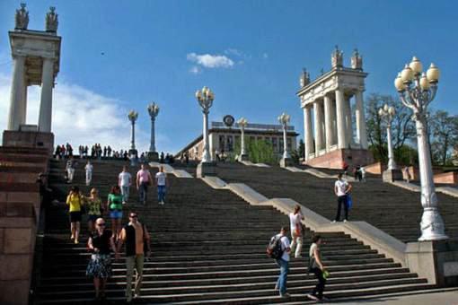 Немецкие и астраханские студенты и школьники побывали в Волгограде в рамках проекта