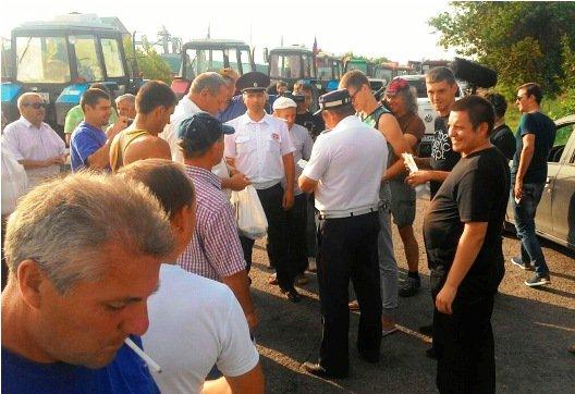 Под Ростовом задержаны бастующие фермеры и дальнобойщики