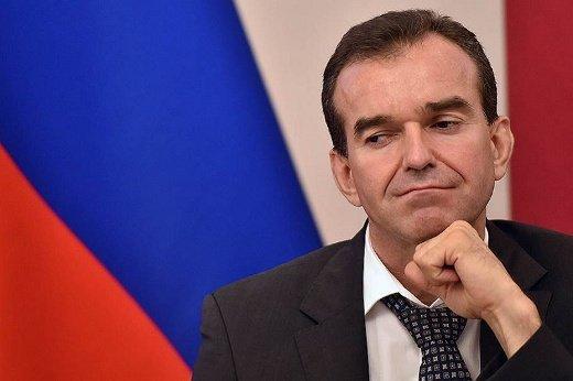 Рейтинг главы Краснодарского края В. Кондратьева резко упал